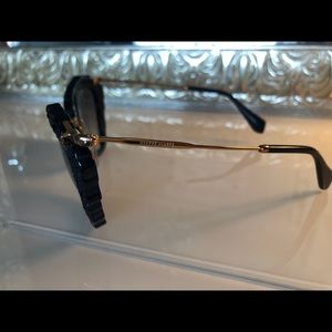 "Miu Miu Accessories - Miu Miu ""Noir"" sunglasses"